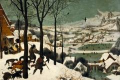 P. Brueguel el Viejo, Cazadores en la Nieve