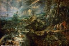 P.P. Rubens, El Paisaje Tormentoso