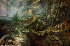 P.P. Rubens, The Stormy Landscape