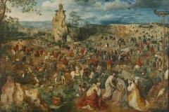 P. Brueguel L'Ancien, La portée de la Croix