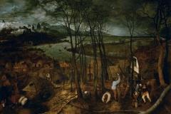 P. Brueguel L'Ancien, La Journée Sombre