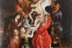 Seguidor de Rubens, Deposición