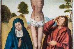 Seguidor de Memling, Crucifixión
