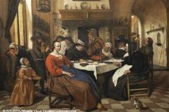 Jan Steen, El Festín del Rey