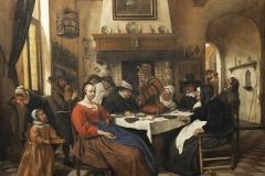 Jan Steen, Le Festin du Roi