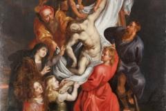 Rubens' Follower, Deposition