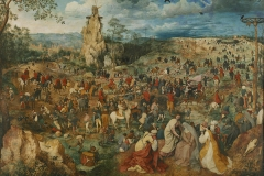 P. Brueguel the Elder, Carrying of the Cross